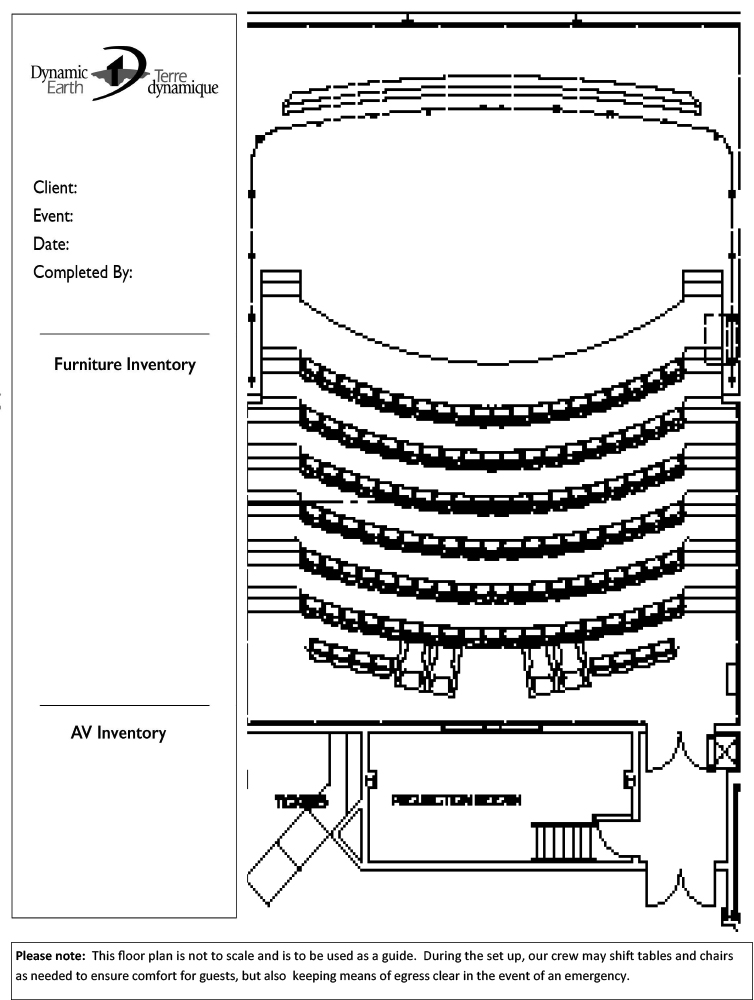 epiroc theatre floor plan