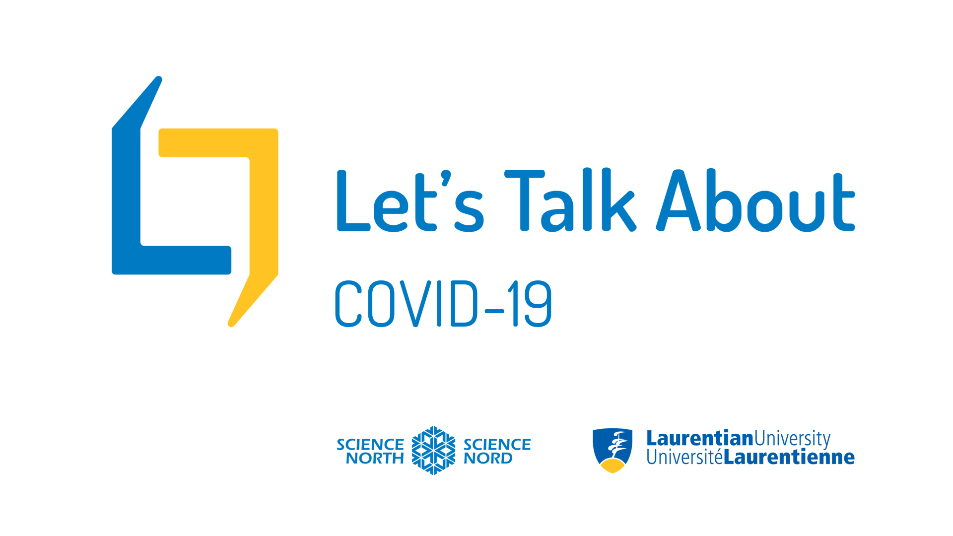 let's talk about covid-19