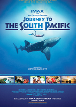 Journey to the South Pacific 3D poster
